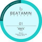 BEATAMIN PODCAST 01 - Domi PL (Italy) - October/2013