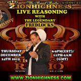 FREDLOCKS LIVE INTERVIEW WITH DJ JAMMY 122416