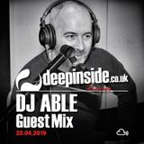 DJ ABLE is on DEEPINSIDE