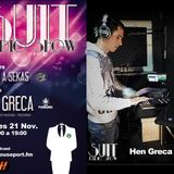 SUIT RADIO SHOW_HEN GRECA