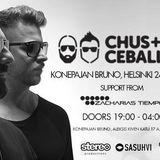 Chus + Ceballos Helsinki warm up by Zacharias Tiempo Feb 2017