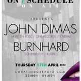 burnhard @ On/Schedule, Swaet Lodge Radio Berlin 2014/04/19