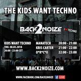 O*R*C*O Live @ Back2Noize Radio - The Kids Want Techno Show (08.03.2018)