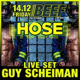 'Beef Hose' Live By Guy Scheiman 14.12.18