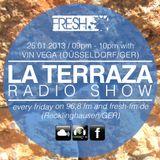 Vin Vega - La Terraza Radio Show (25.01.2013)