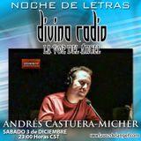 POETA Y DRAMATURGO ANDRES CASTUERA-MICHER/DIVINA RADIO/GUADALUPE DIVINA