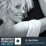 Funkymusic Monthly Podcast, Dec 2019 - O. ISAYEVA - Special Liquid Funk & D&B Mix