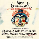&ME  -  Live At Keinemusik, Tabu (The BPM Festival 2015, Mexico)  - 11-Jan-2015