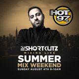 DJ SHORTKUTZ LIVE ON HOT 97 ALL MIX WEEKEND 8_4_19