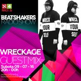 The Beatshakers Radio Show - Guest Mix by Wreckage