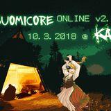 Avaruusveli @ Suomicore Online v2.0 (10.3.2018 @ Kaaosradio)