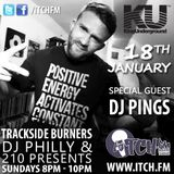 DJ Philly & 210 Presents- Trackside Burners 65 - DJ Pings - ITCH FM (18-JAN-2015)