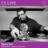 CS LIVE: Specter @ Downbeat, Madrid (11.02.2018)