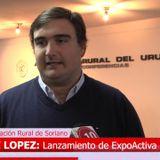 Ing Felipe Lopez Pte de la Rural de Soriano/Expo Activa
