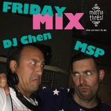 Friday Mix by DJ CHEN & MSP (live sax) // mama thresl