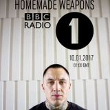 Homemade Weapons (Samurai Music, Weaponry) @ DJ Friction Radio Show, BBC Radio 1 (10.01.2017)