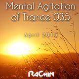 Mental Agitation of Trance 035 April 2015