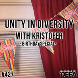 Kristofer - Unity in Diversity 427 (birthday special) @ Radio DEEA (18-03-2017)