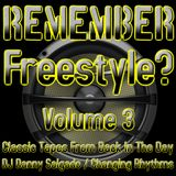 Remember Freestyle? Volume 3 (Mix Set)