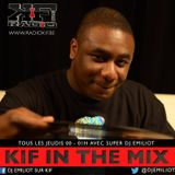KIF IN THE MIX @ RADIOKIF 6 Mai 2015