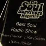 30.3.2019 Ash Selector's Award Winning Groove Control Show on Solar Radio sponsored by Soul Shack