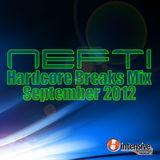 Nefti - Hardcore Breax Mix September 2012
