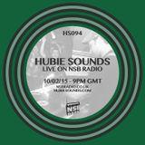 Hubie Sounds 094 - 10th Feb 2015