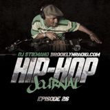 Hip Hop Journal Episode 26 w/ DJ Stikmand