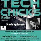 TechChicks Radio Live set Kadraphonic from 18th December 2015