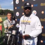 Coach Tomlin #Pittsburgh Steelers 1st padded practice