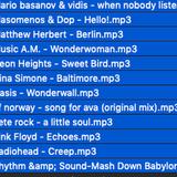 Cadenza Source Alternative Tracks #3 (Mixed)