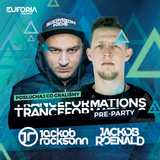 JACKOB ROCKSONN b2b JACKOB ROENALD live at Pre-Party TRANCEFORMATIONS 2018 (Wrocław 2018-02-09)