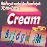 Cream (70's, 80's & 90's Retro hits with energy) - Fridays & Saturdays 7pm-1am - Bridge County FM