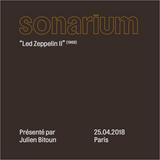 PPR0755 - Sonarium - Led Zeppelin II par Julien Bitoun