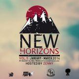 Crossfyah Sound - New Horizons Vol. 5 (Quarterly Mixtapes Vol. 5, Jan, Feb, March 2014)