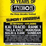 03 Kai Tracid Live @ Techno Clubs 30 Years Special @ Techno Club, Frankfurt, Germany 28-12-2014