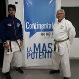 Entrevista a Gonzalo Caldez y el Sensei Daniel Villagra sobre el Karate en San Martín