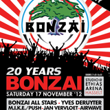 dj Phi Phi @ 20 Years Bonzai Retro Party 17-11-2012