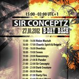 Chaotic Spirit & Regain @ Sir Conceptz B-Day BASH