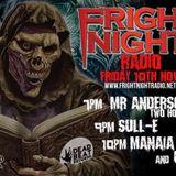 Mr Anderson live 2 Hour set on Fright Night Radio 10/11/17