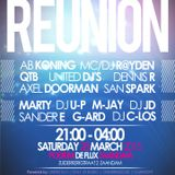 Clubnight Reunion 28-03-2015 Hosted by MC Heavix powerd by United Dj's and CrimeRadio.eu