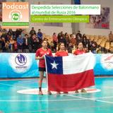 Despedida de la selección chilena de balonmano