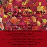 Steve D - End Of Summer 2016 (September 2016)