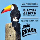 JOÃO BRASIL MIX - DJ POTIRA SHOW at KPFK RADIO (Los Angeles) - 2017