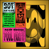 "A Guy Called Gerald at ""Fac51 Hacienda - Acid House Pool Party"" (Manchester-UK) - 16 April 2017"