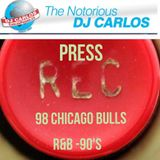 "Notorious DJ Carlos - I Pressed Record ""98 Bulls"""
