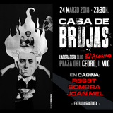 Sesión Casa de Brujas (Laboratori Club @ El Asesino, Valencia. Marzo 2018).