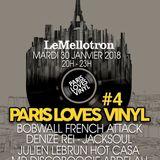 Paris Loves Vinyl #4 - Le Mellotron Live Show Jan 2018