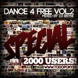 Dance4Free Vol.2 Special TodoPoky.es 2000 Users (Mixed by Dj Rayne)