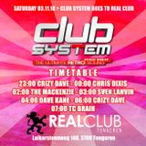 Dave Kane - Club System Reunion @ Real Club - 03-11-18